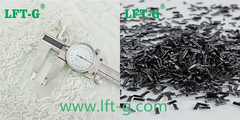 PP composities materials glass fiber and carbon fiber